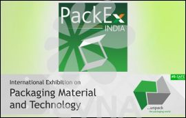 PackEx India to take place on 15-17 SeptEvna